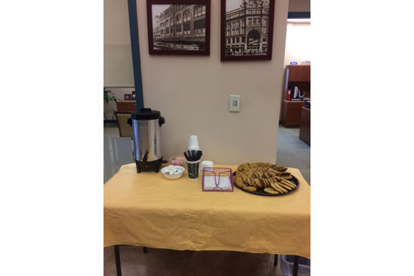 Cookies & Coffee at the Corner